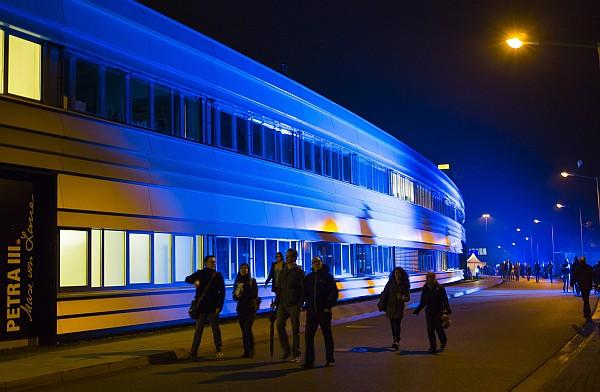 DESY - Tag der offenen Tür / Nacht des Wissens 2013 in Hamburg .