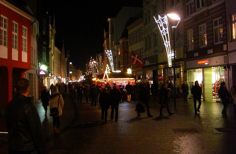 Weihnachtsmarkt Flensburg Danebrog - (c) spinagel.de