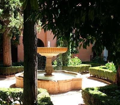 Brunnen in Granada (c) spinagel.de