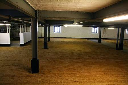 Bowmore malting room (c) Spinagel.de