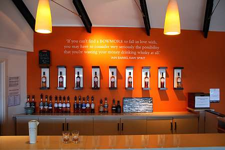 Bowmore tasting room (c) Spinagel.de