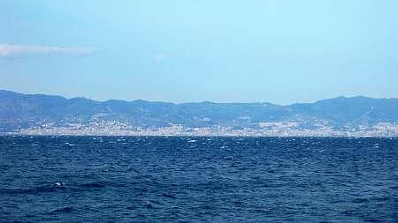 Ionisches Meer vor Reggio di Calabria (c) weltvermessen.de_kl