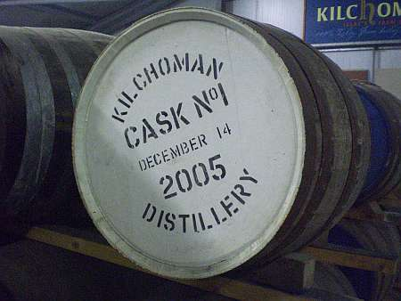 Kilchoman cask no. 1 (c) spinagel.de
