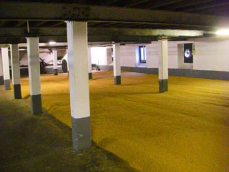 Laphroaig malting floor (c) spinagel.de