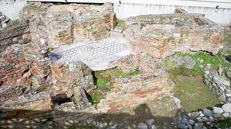 Römische Thermen mit gekacheltem Mosaikboden in Reggio di Calabria (c) weltvermessen.de_kl