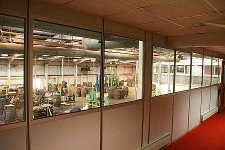 Speyside Cooperage Glaskasten