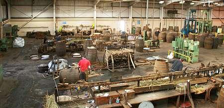 Speyside Cooperage Werkstatt