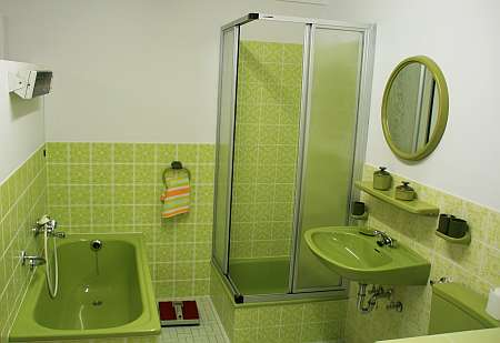 Grünes Badezimmer (c) spinagel.de
