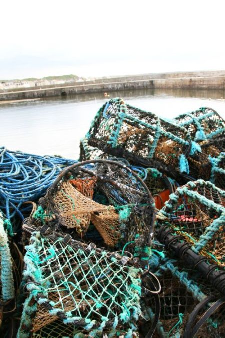 Der Hafen von Buckie