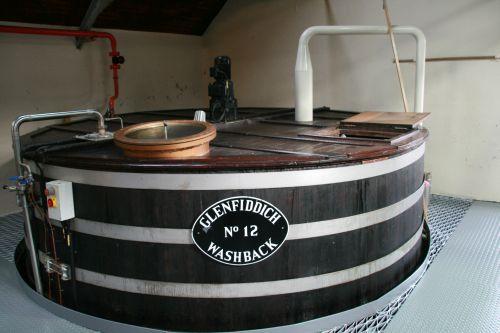 Glefiddich destillery washback