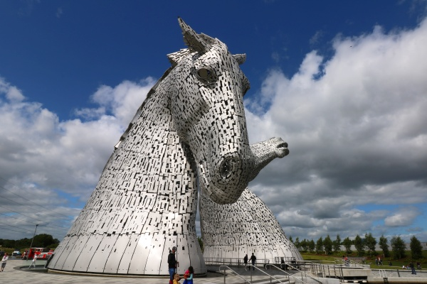 Kelpies Fallkirk spinagel