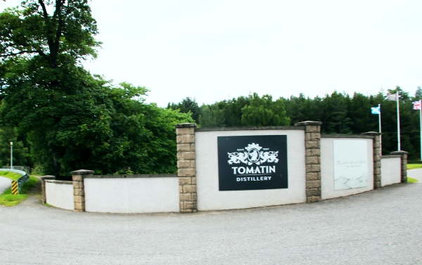 Tomatin Distillery Schottland Spinagel