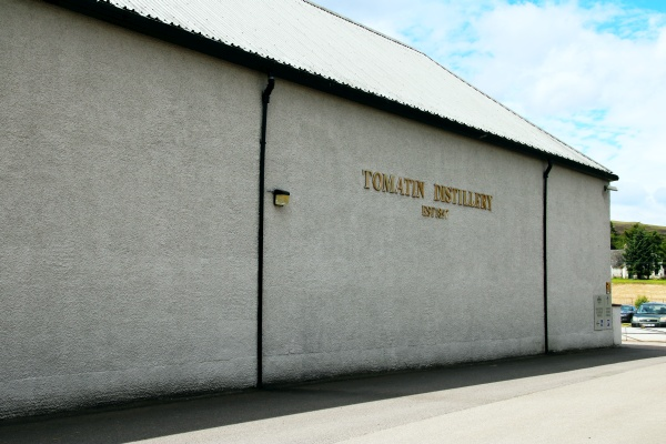 Tomatin Warehouse Schottland Spinagel