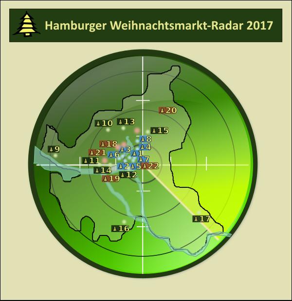 Hamburger Weihnachtsmarktradar 2017